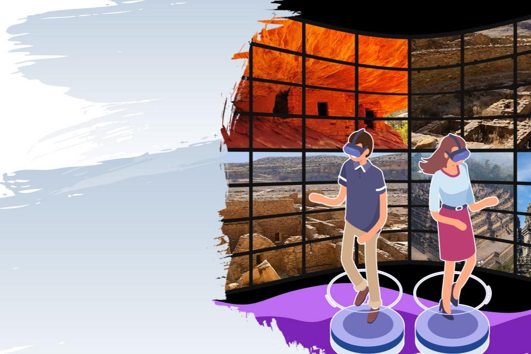 Explore America via Virtual Reality!