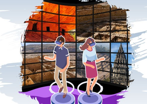 Explore America via Virtual Reality!