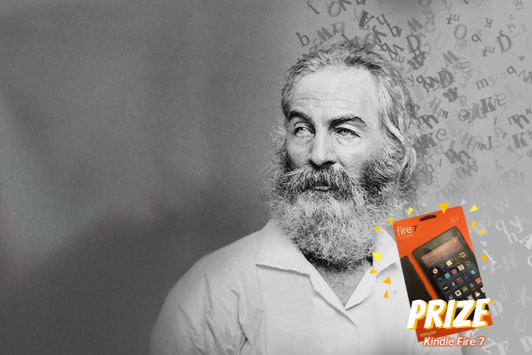 Poetry Competition: Speak Whitman!
