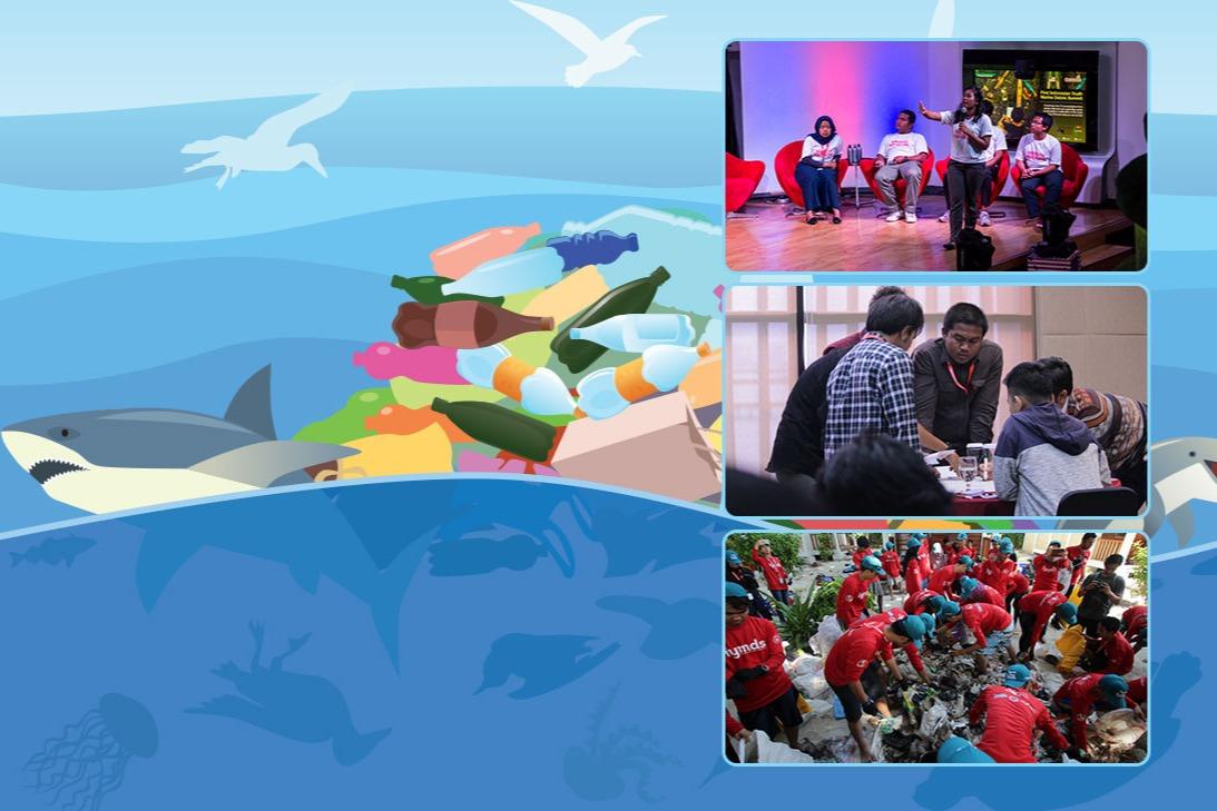 The Closing of Indonesian Youth Marine Debris Summit 2019