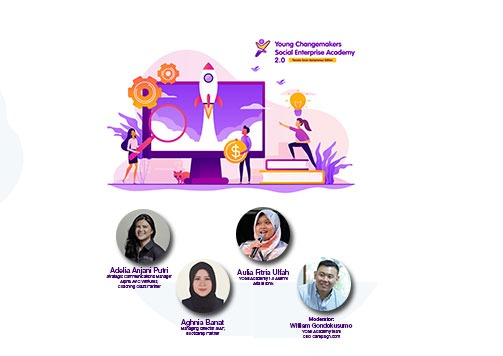 Launching of Young Changemakers Social Enterprise Academy 2.0: Female Techpreneur Edition