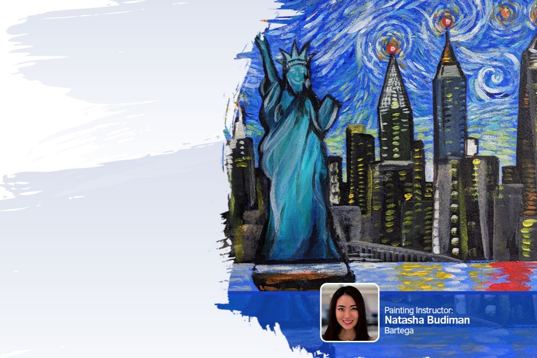 Painting on My Mind: Liberty Enlightening the World